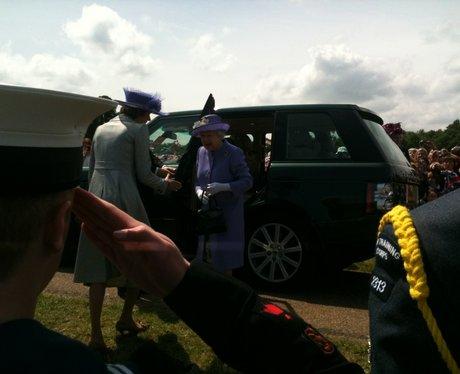 Queen in Hatfield