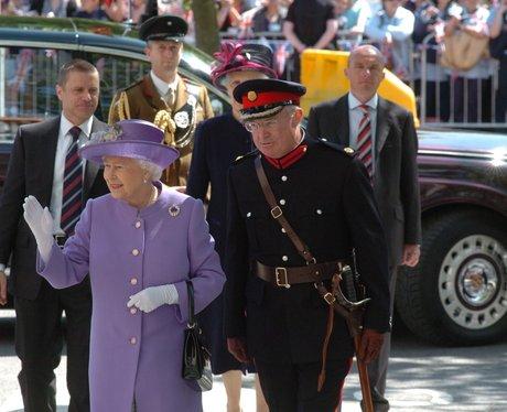 Queen in Stevenage