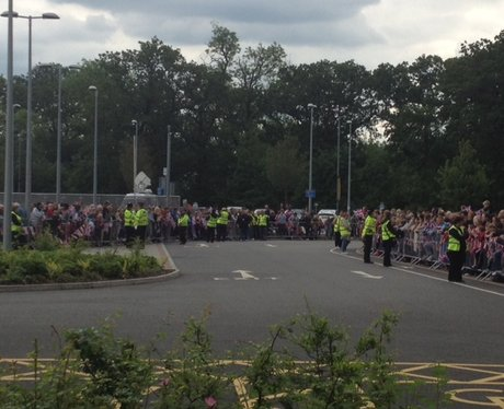 Queen Visits Corby