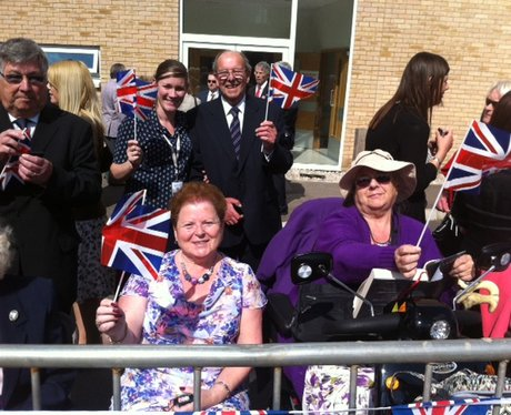 Queen Visits Stevenage