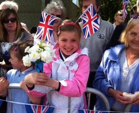 Queen Visits Stevenage