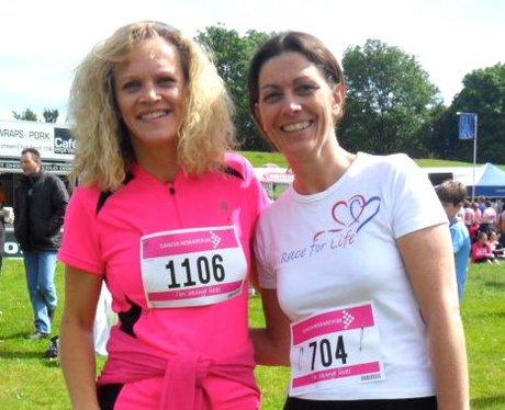 Race for Life in Welwyn Pre Race Part One