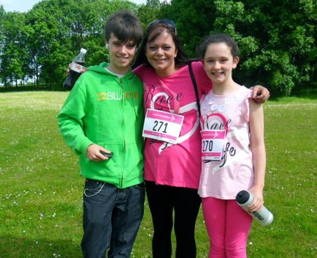Race for Life in Welwyn Pre Race Part One