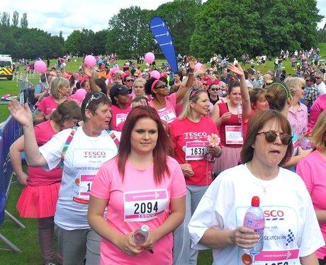Race for Life in Welwyn Pre Race Part Two