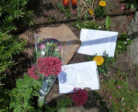 Tributes Left For Murdered Teen