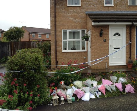 Tributes Left For Murdered Teen