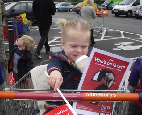 Who's On Heart? Sainsbury's, Farlington