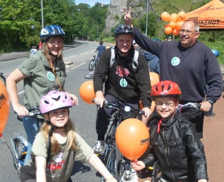 Bristol's Biggest Bike Ride 2012- The Challenge