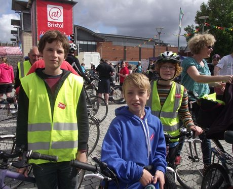 Bristol's Biggest Bike Ride 2012