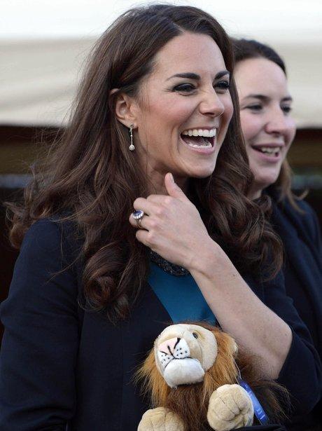 Duchess of Cambridge visits Theatre