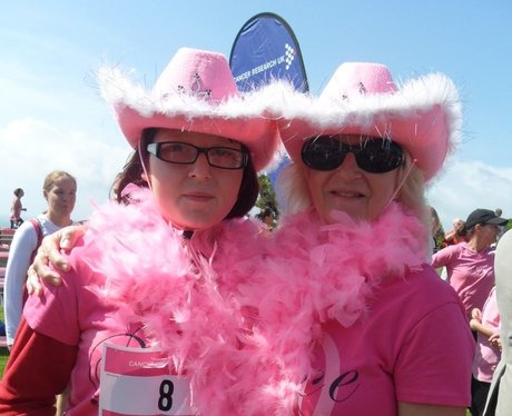 Folkestone Race For Life - Getting ready!