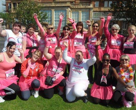 Folkestone Race For Life - Getting ready!