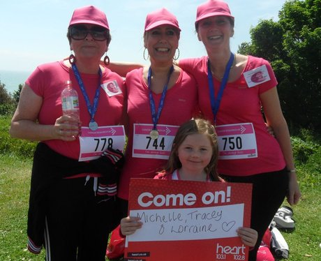 Folkestone Race For Life - The Medals