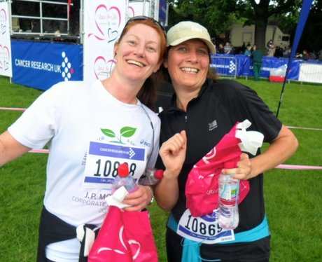 Lovely ladies at the Northampton Race for Life