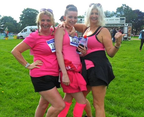 Northampton Race for Life 10K Runners