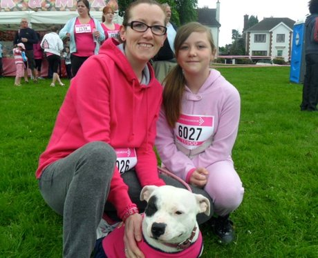 Perfect pooches at the Race for Life 5K