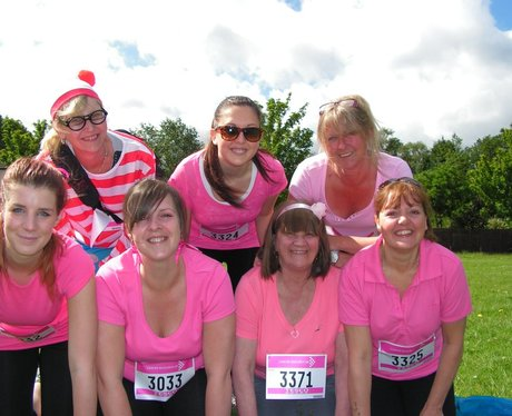 Race for Life at Cassiobury Park Watford - Before