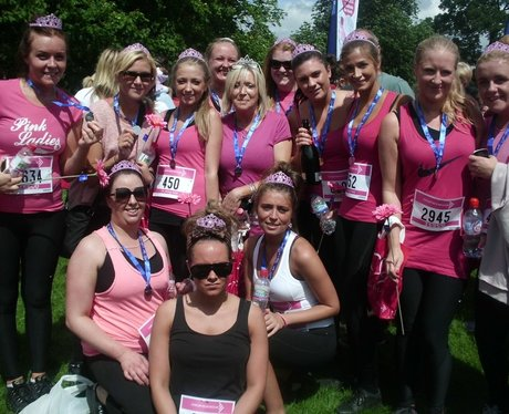 Race for Life at Cassiobury Park Watford - The Med