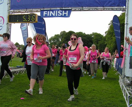 Race for Life at Cassiobury Park Watford - The Sta