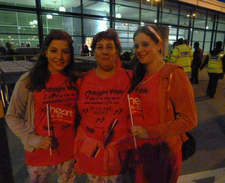 St Clare Hospice Midnight Walk