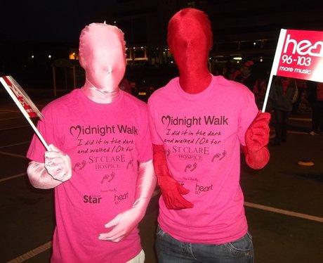 St Clare Hospice Midnight Walk
