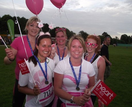 The Finish Line at Basingstoke Race for Life