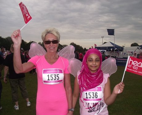 The Pink Ladies at Basingstoke Race for Life