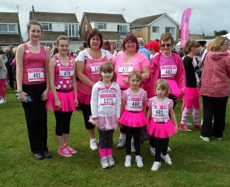 Herne Bay Race For Life - Ladies in Pink!