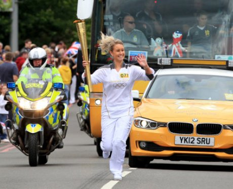 Olympic Torch - Great Wyrley / Walsall