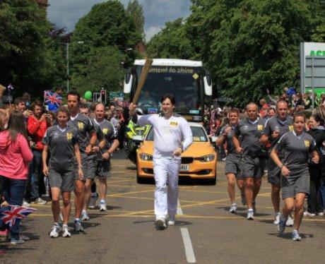 Olympic Torch - Great Wyrley / Walsall