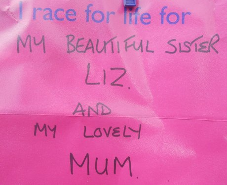 Race For Life Chester: Your Messages