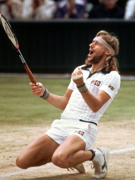 Tennis Hunks Bjorn Borg