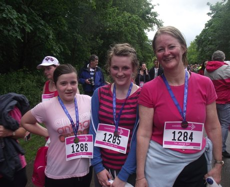 The Finish Line at Aylesbury Race for Life