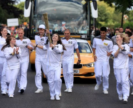The Olympic Torch Relay Day 43 - The Wanted