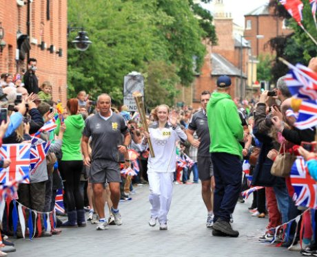 The Olympic Torch Relay Day 43: Burton to Tamworth