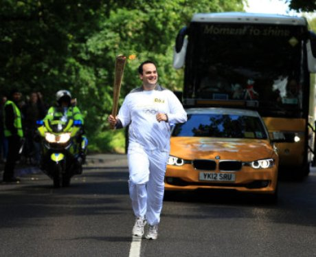The Olympic Torch Relay Day 43: Great Wyrley to Wo