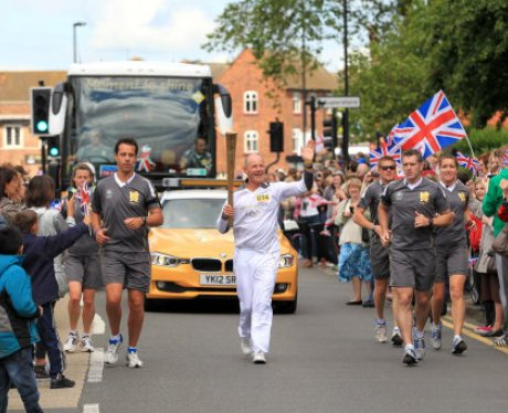 The Olympic Torch Relay Day 43: Walsall / Willenha