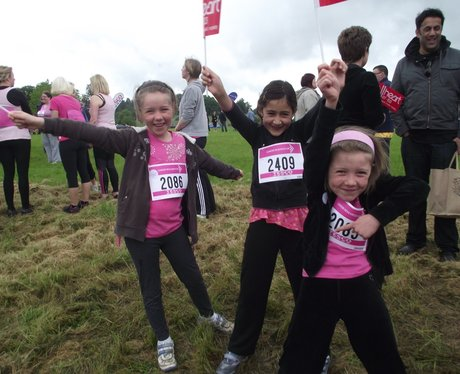 The Pink Ladies at Aylesbury Race for Life