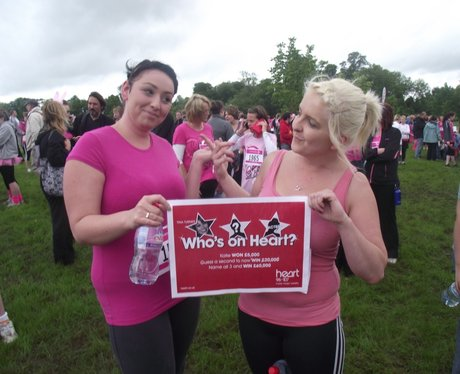Who IS on Heart? at Aylesbury Race for Life