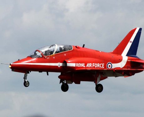 Air Tattoo arrivals