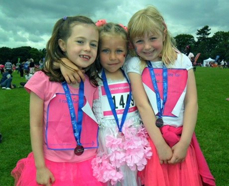 Bedford Race For Life - Finish Line
