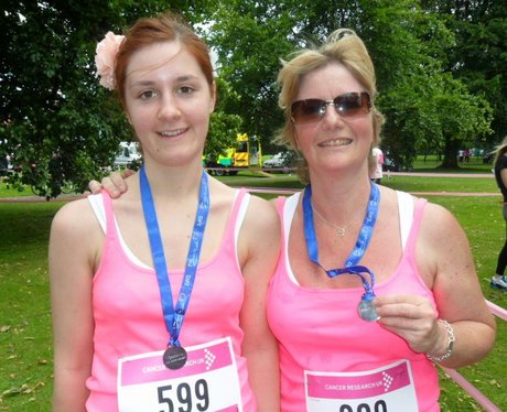 Bedford Race for Life - Medals