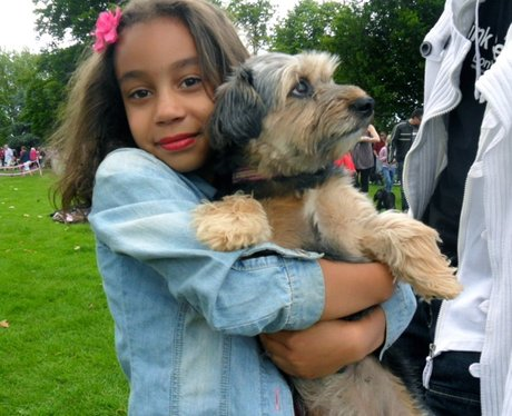 Delightful Doggies at Bedford Race for Life