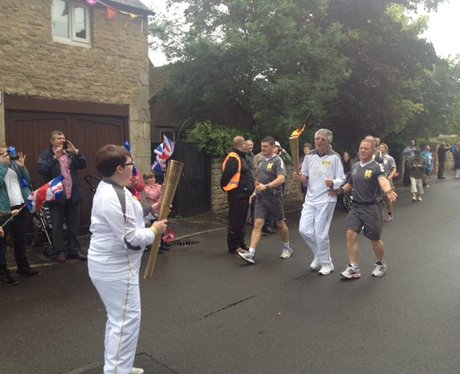 Geddington Olympic Torch