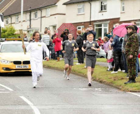 Olympic Torch Kettering