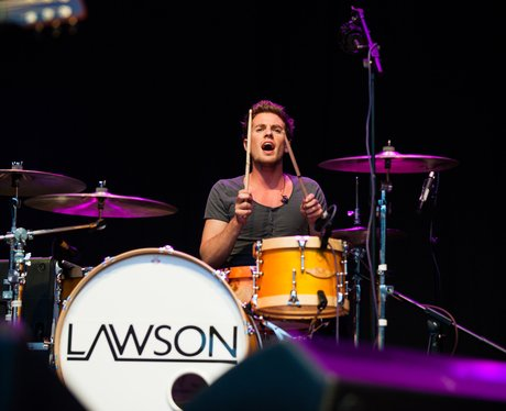 Lawson perform at Love Luton 2012