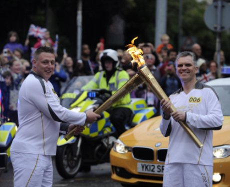 Olympic Torc: Ipswich Morning