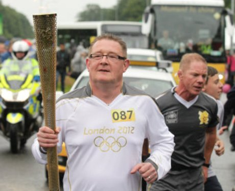Olympic Torch Corby