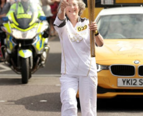 Olympic Torch in Great Yarmouth