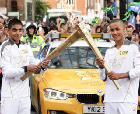 Olympic Torch: Ipswich